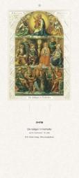 Rückwand zum Liturgischen Kalender - Die heiligen 14 Nothelfer