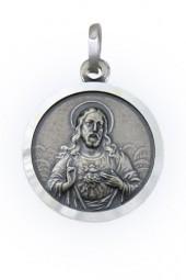 Skapulier Medaille (Silber), 14mm