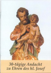 30-tägige Andacht zu Ehren des Hl. Josef
