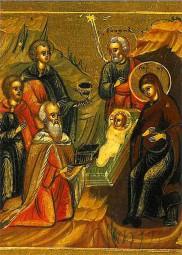 Anbetung der Könige (Kunst-Postkarte)