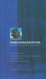 Reihe: Ehe und Familie - Band 4 Familiengedächtnis