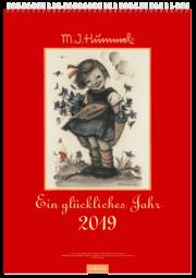 Ein glückliches Jahr - Hummel Wandkalender 2019