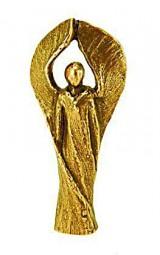 Engelfigur aus Bronze