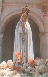 Gebetsbildchen - Muttergottes von Fatima (10 Stück)