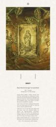 Rückwand zum Liturgischen Kalender - Das Hardenberger Gnadenbild