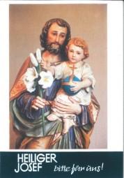 Heiliger Josef bitte für uns!