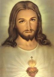 Herz-Jesu (nach Faustine) DIN A4