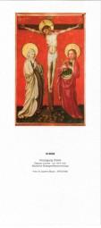 Rückwand zum Liturgischen Kalender - Kreuzigung Christi