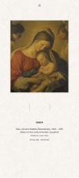 Rückwand zum Liturgischen Kalender - Maria mit dem Jesuskind