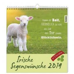 Irische Segenswünsche 2019 - Postkarten-Kalender