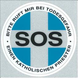 SOS-Priester (Aufkleber für PKW)