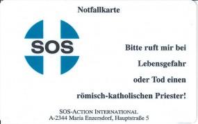 SOS-Priester Notfallkarte