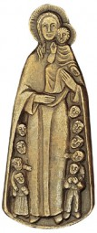 Schutzmantelmadonna (bronze)