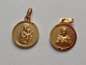 Skapuliermedaille (Gold 333)