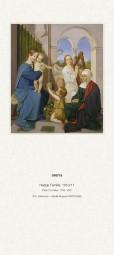 Rückwand zum Liturgischen Kalender - Heilige Familie, Cornelius