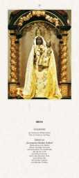 Rückwand zum Liturgischen Kalender - Schwarze Mutter Gottes, Köln