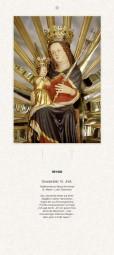 Rückwand zum Liturgischen Kalender - Maria Kirchental