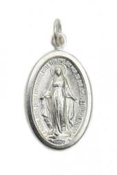 Wunderbare Medaille (Neusilber, 18 mm)