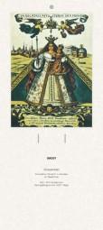 Rückwand zum Liturgischen Kalender - Gnadenbild, Kevelaer