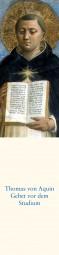 Lesezeichen - Gebet vor dem Studium