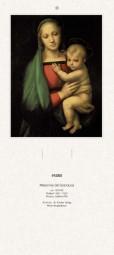Rückwand zum Liturgischen Kalender - Madonna del Granduca